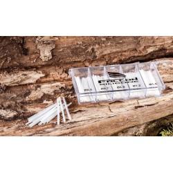 FALCON WĘŻYKI SILIKON KOMPLET - różne średnice od 0,5 do 1,5 mm 9210