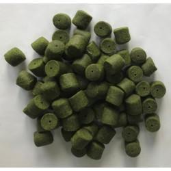 PowerFish pellet dla ryb, krab, kolor zielony, różne średnice op. 20 kg