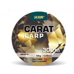 Jaxon, Plecionka Carat Carp, ciemny brąz, 300m