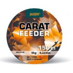 Jaxon, Żyłka Carat Feeder, ciemny brąz, 150m
