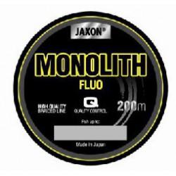 Jaxon, Plecionka Monolith FLUO, 200m