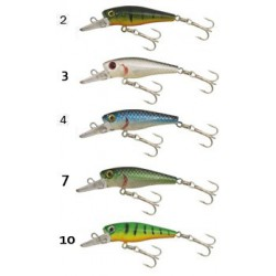 Gold Star wobbler Perch-III 4,5 cm