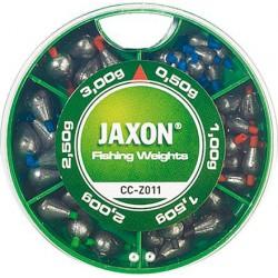 JAXON, komplety ciężarków,  ciężarki łezki minizestaw