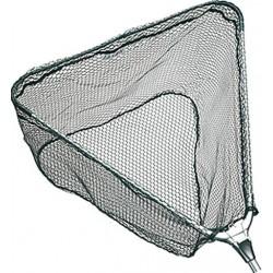 Jaxon, Podbierak Metal Safe/gumowana siatka, PL-AXMT