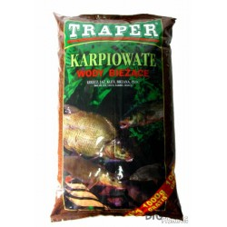 Traper, Zanęty karpiowate, wody bieżące, 2,5kg i 5kg