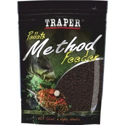 Traper, Method Feeder Pellet 2 mm 500 g . różne smaki