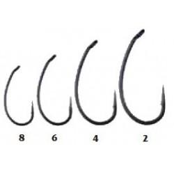 Traper, Hikara, Haczyki Teflon Extreme, black chrome, rozm. 2, 4, 6, 8.