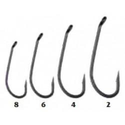 Traper, Hikara, Haki Teflon D-Ring, black chrome, rozm. 2, 4, 6