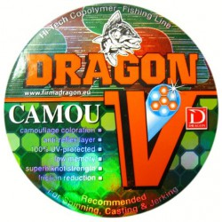 Dragon, Żyłka Dragon V, Camou, 150m