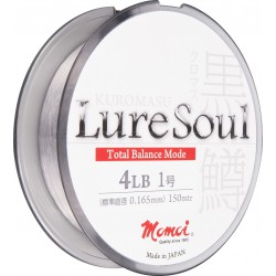 Momoi, żyłka Kuromasu Lure Soul kolor crystal 100m różne średnice