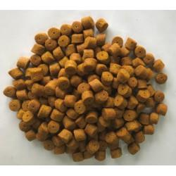 PowerFish pellet dla ryb, wanilia, kolor żółty, różne średnice op. 20 kg