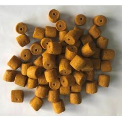 PowerFish pellet dla ryb, banan, kolor żółty, różne średnice op. 20 kg