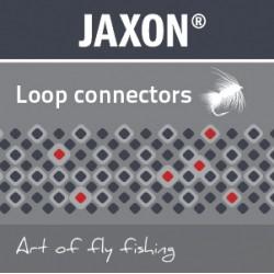 Jaxon, łączniki sznura muchowego z żyłką NM-LC01B, op. 5x3 szt.
