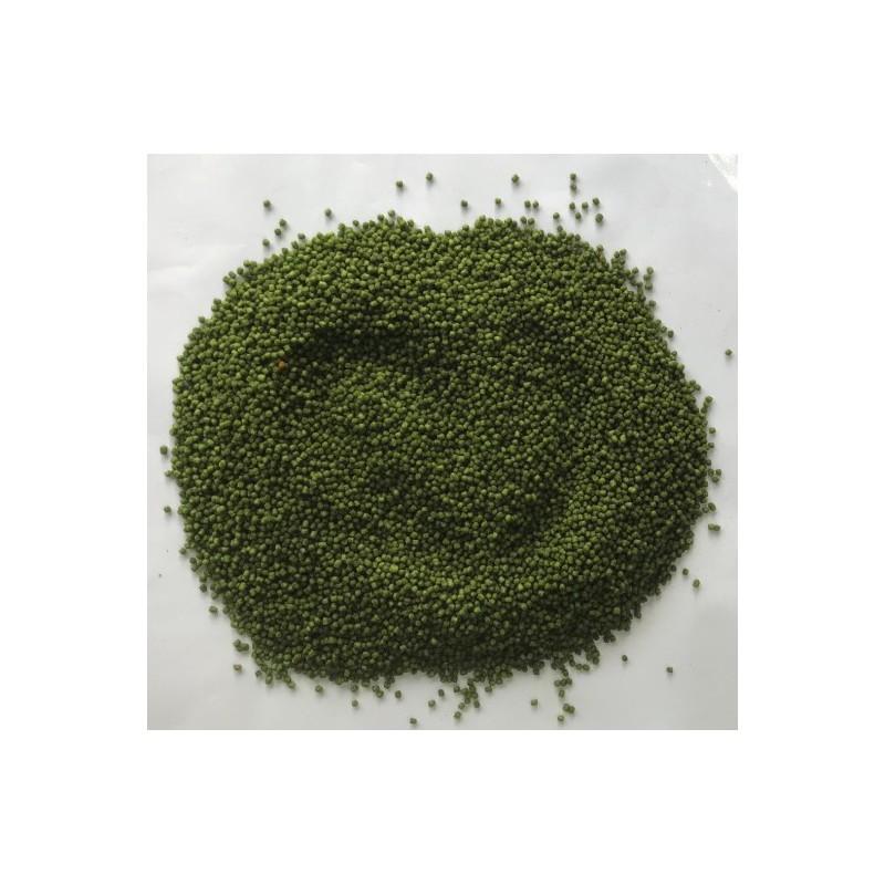 PowerFish pellet dla ryb, koperek, kolor zielony, różne średnice op. 20 kg