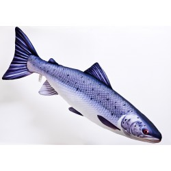 Gaby Pluszowy Łosoś Atlantycki, 90 cm