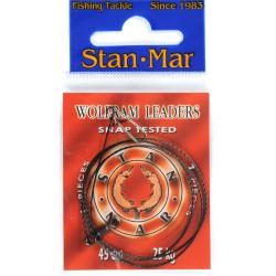 Stanmar Dlux przypon wolframowy uzbrojony 45 cm, różne wytrzymałości