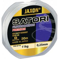 Jaxon, żyłka SATORI Fluorocarbon Premium clear 20m, op. 6x1 szt.