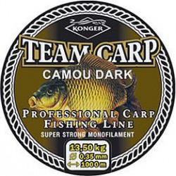 Konger, Team Carp Camou Dark, 1000m