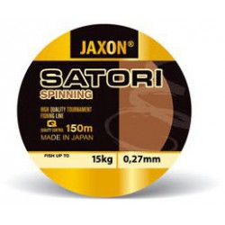Jaxon, SATORI SPINNING, Jasnoszara-przezroczysta, 150m