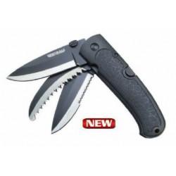 Mistrall, Nóż wielofunkcyjny Black 12/8,5cm