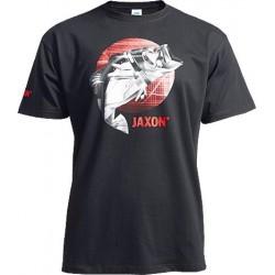 Jaxon, Koszulka z rybą, czarna, UR-KB001