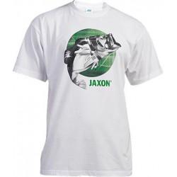 Jaxon, Koszulka z rybą, biały, UR-KB002